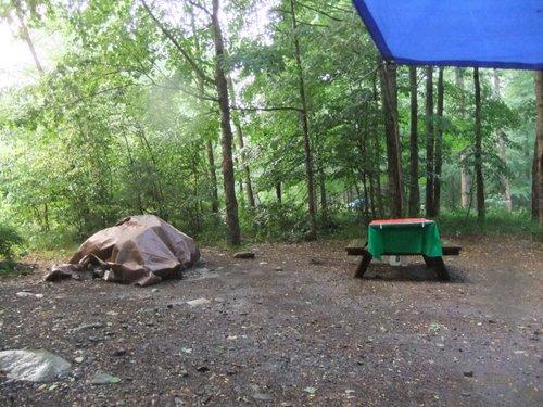 キャンプ2日目 淋しいキャンプグランド_c0064534_148794.jpg