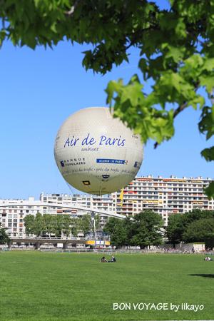 Paris2012 気球に乗ったよ!_e0118941_9174626.jpg