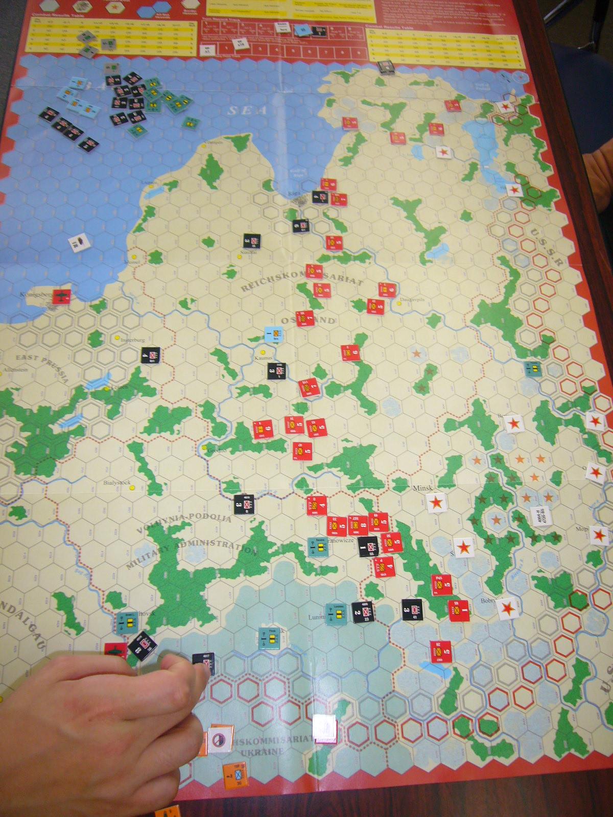 YSGA 7月例会の様子その5(WaW誌#9) Desruction of Army Group Center〉 _b0173672_18471222.jpg