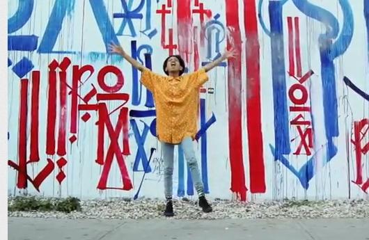11歳の女の子(ウィル・スミスさんの娘さん)がニューヨークの街角で歌うミュージック・ビデオ I Am Me_b0007805_8585342.jpg