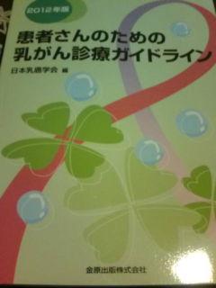 患者さんのための乳がん診療ガイドライン《日本乳がん学会編》_e0094315_18335824.jpg