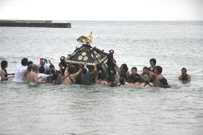 秋谷スケッチ120707  秋谷神社お祭り AKIYA SPIRIT-4_f0156448_19363891.jpg