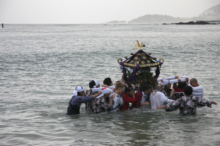 秋谷スケッチ120707  秋谷神社お祭り AKIYA SPIRIT-4_f0156448_19365932.jpg
