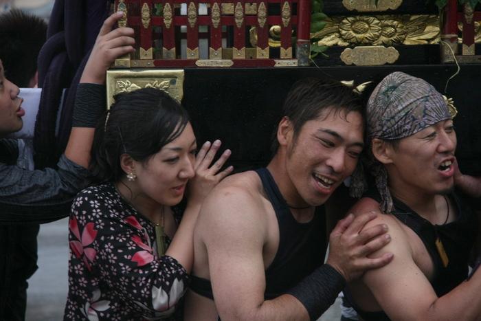 秋谷スケッチ120707  秋谷神社お祭り AKIYA SPIRIT-4_f0156448_19381616.jpg