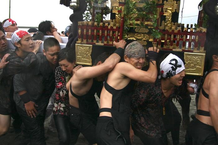 秋谷スケッチ120707  秋谷神社お祭り AKIYA SPIRIT-4_f0156448_19385188.jpg