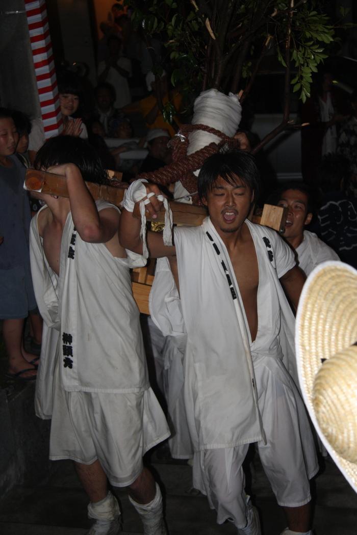 秋谷スケッチ120707  秋谷神社お祭り AKIYA SPIRIT-4_f0156448_19402889.jpg