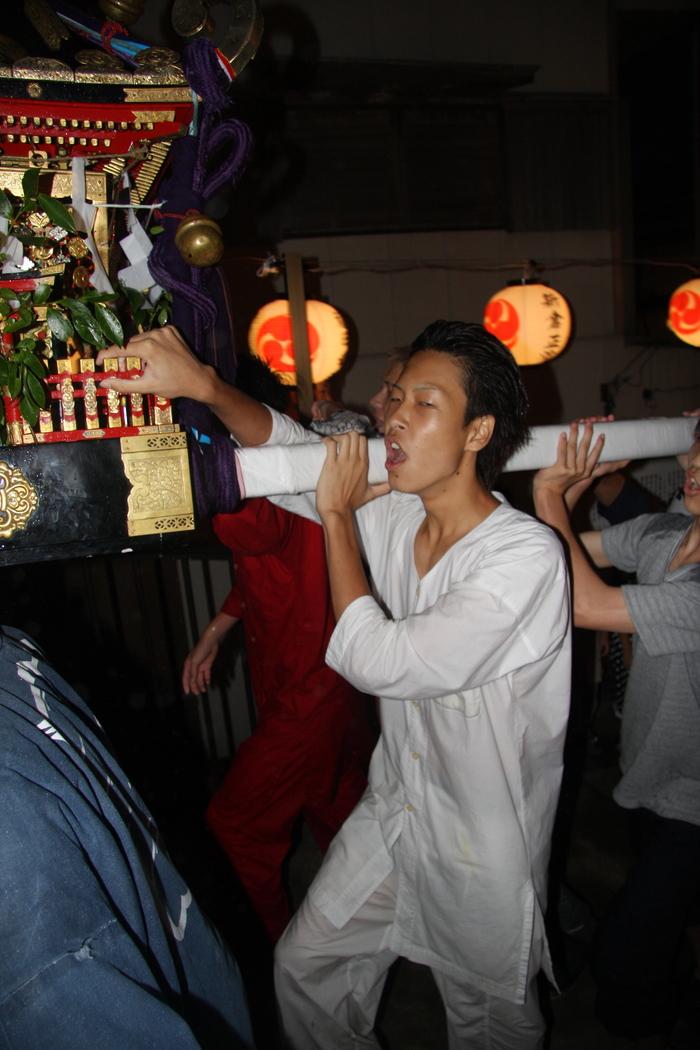 秋谷スケッチ120707  秋谷神社お祭り AKIYA SPIRIT-4_f0156448_19405832.jpg