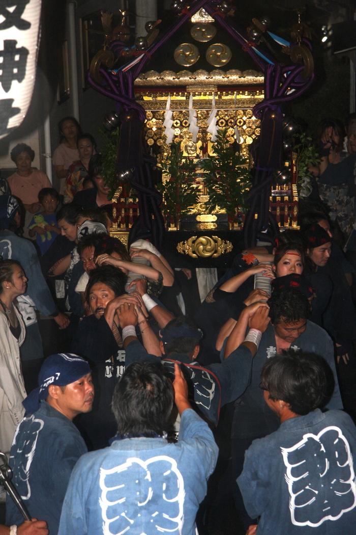 秋谷スケッチ120707  秋谷神社お祭り AKIYA SPIRIT-4_f0156448_19414127.jpg