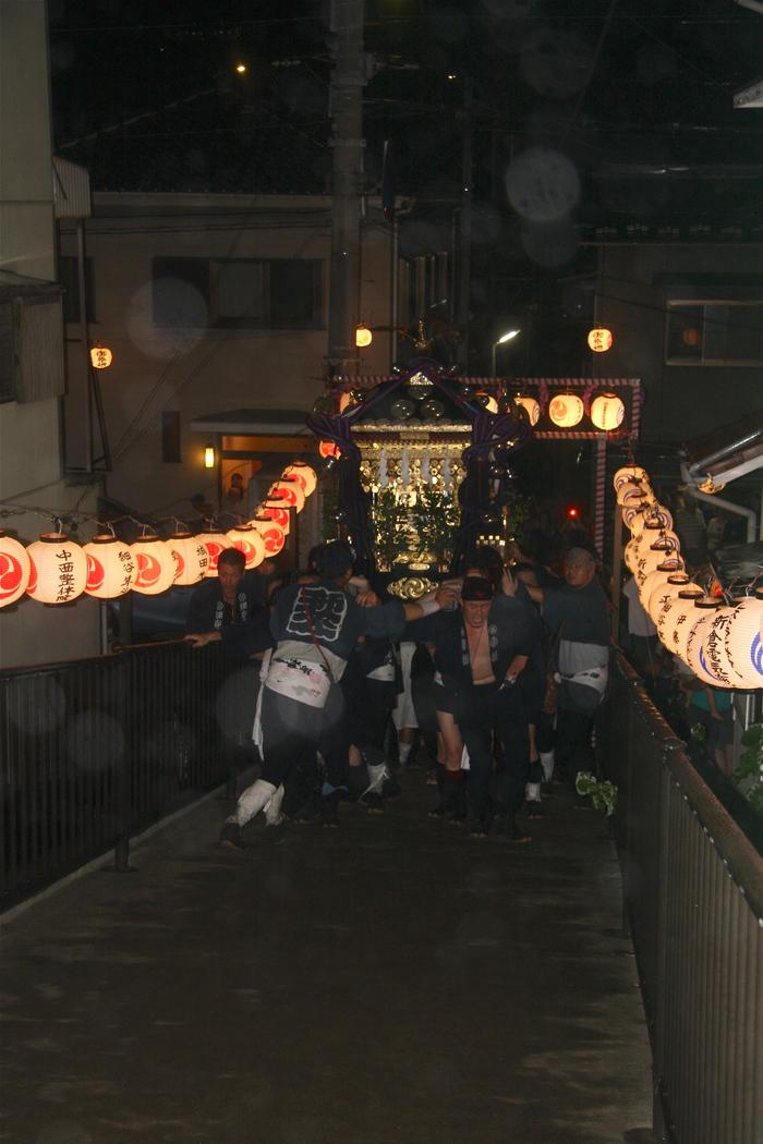 秋谷スケッチ120707  秋谷神社お祭り AKIYA SPIRIT-4_f0156448_1942261.jpg