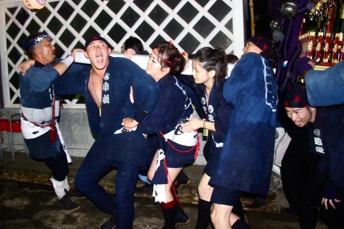 秋谷スケッチ120707  秋谷神社お祭り AKIYA SPIRIT-4_f0156448_19425415.jpg