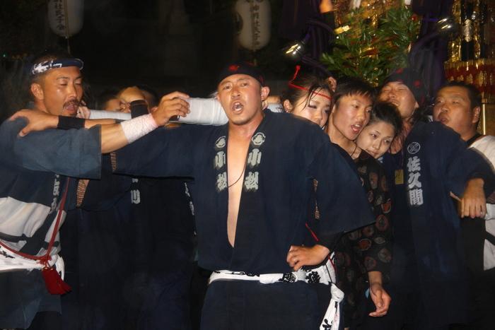 秋谷スケッチ120707  秋谷神社お祭り AKIYA SPIRIT-4_f0156448_19431645.jpg
