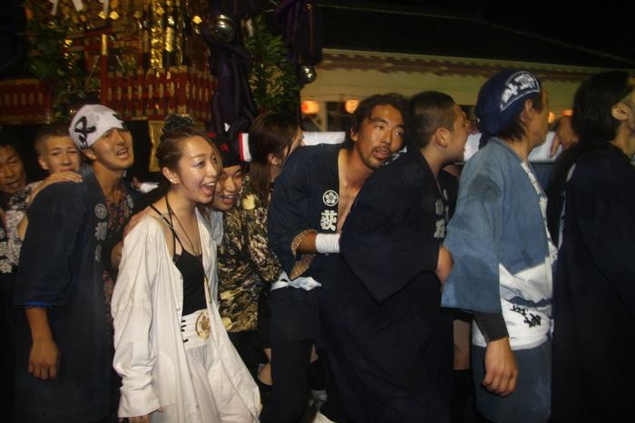 秋谷スケッチ120707  秋谷神社お祭り AKIYA SPIRIT-4_f0156448_19433711.jpg