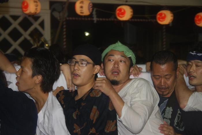 秋谷スケッチ120707  秋谷神社お祭り AKIYA SPIRIT-4_f0156448_19435813.jpg