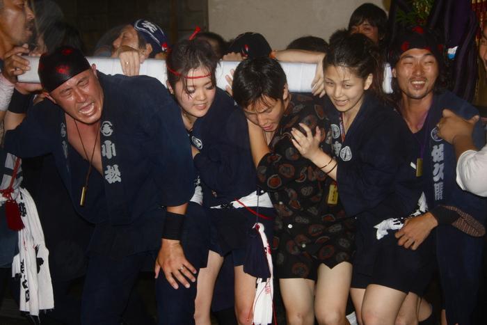 秋谷スケッチ120707  秋谷神社お祭り AKIYA SPIRIT-4_f0156448_19443469.jpg