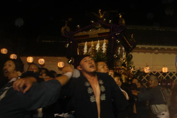 秋谷スケッチ120707  秋谷神社お祭り AKIYA SPIRIT-4_f0156448_1945320.jpg
