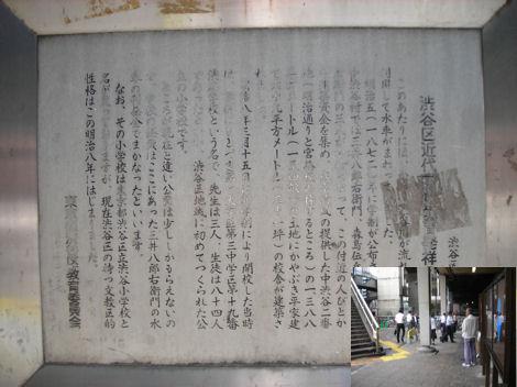 散歩を楽しく/渋谷近代学校教育発祥の地_d0183174_19205751.jpg