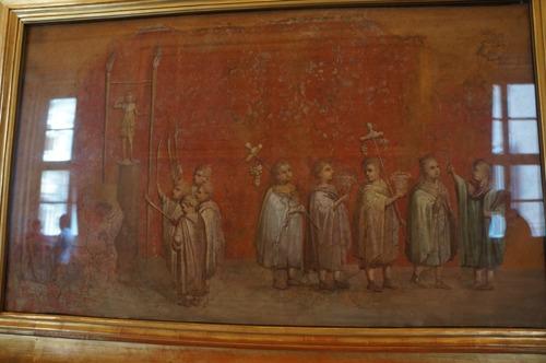 古代の絵画の部~ローマ、ヴァチカン美術館_f0106597_17105385.jpg