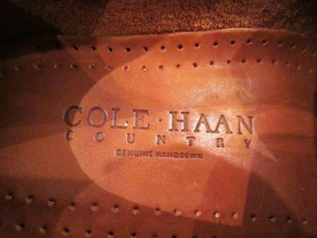"Used SHOES \""COLE HAAN\"" ご紹介_f0191324_1185226.jpg"