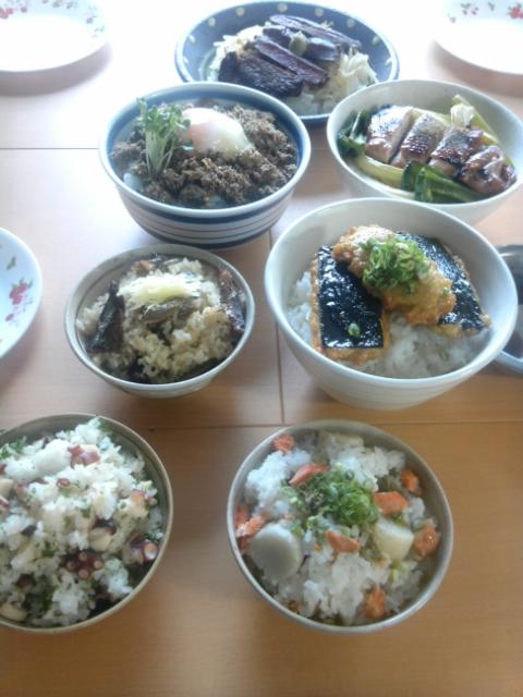 お仕事中のまかないご飯は撮影したお料理たち!_b0204930_1320237.jpg