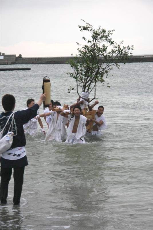 秋谷スケッチ120707  秋谷神社お祭り AKIYA SPIRIT-6_f0156448_18584291.jpg