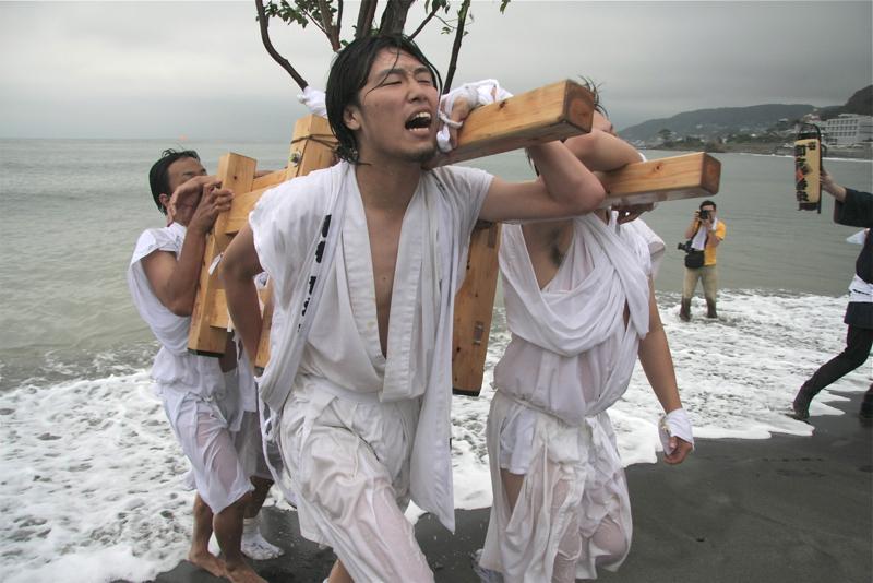 秋谷スケッチ120707  秋谷神社お祭り AKIYA SPIRIT-6_f0156448_18591785.jpg