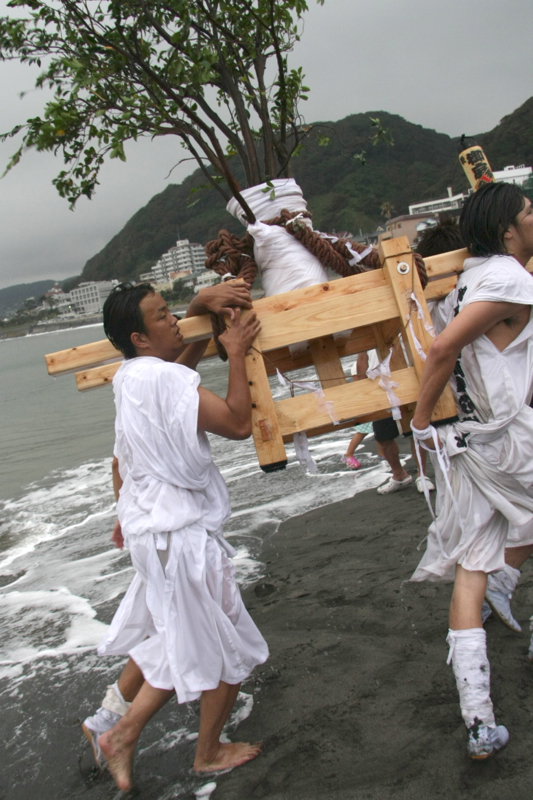 秋谷スケッチ120707  秋谷神社お祭り AKIYA SPIRIT-6_f0156448_1859354.jpg