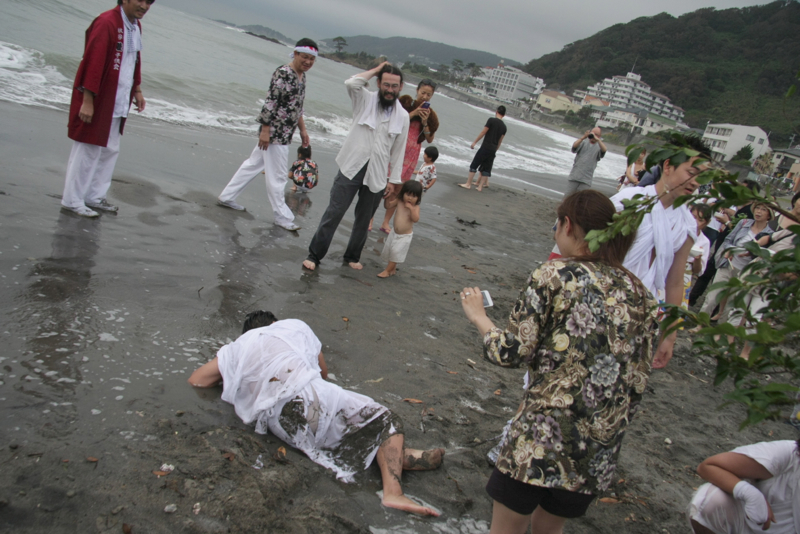 秋谷スケッチ120707  秋谷神社お祭り AKIYA SPIRIT-6_f0156448_18595630.jpg