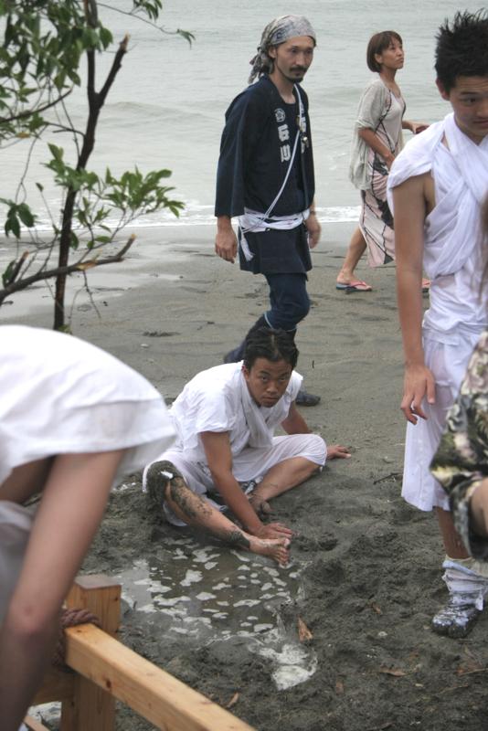 秋谷スケッチ120707  秋谷神社お祭り AKIYA SPIRIT-6_f0156448_1901199.jpg