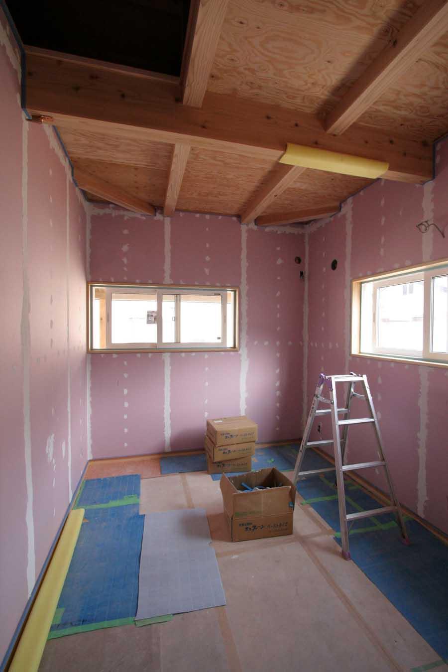 K様邸「中和二丁目の家」 工事中です。_f0150893_20271837.jpg