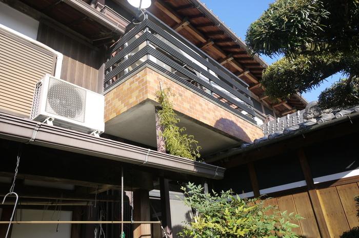 本格木造住宅大改造11 バルコニーをダイエット _e0214805_9534518.jpg