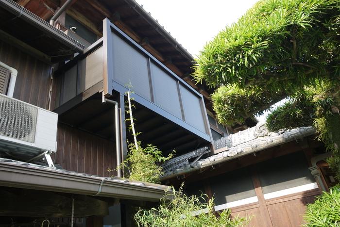 本格木造住宅大改造11 バルコニーをダイエット _e0214805_9574827.jpg