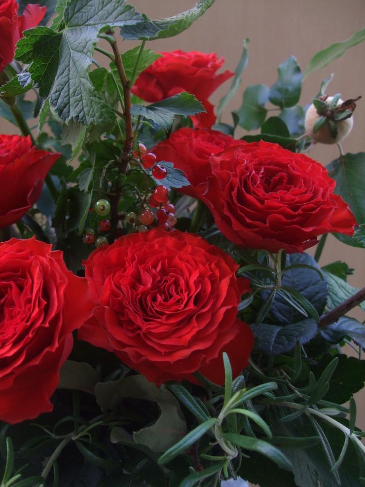 オークリーフ(薔薇のアレンジメント)_f0049672_124262.jpg