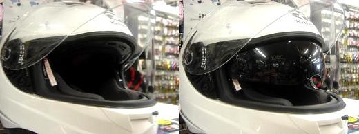 OGKのサンバイザー付きヘルメットのKAMUI(カムイ)入荷!_b0163075_929865.jpg