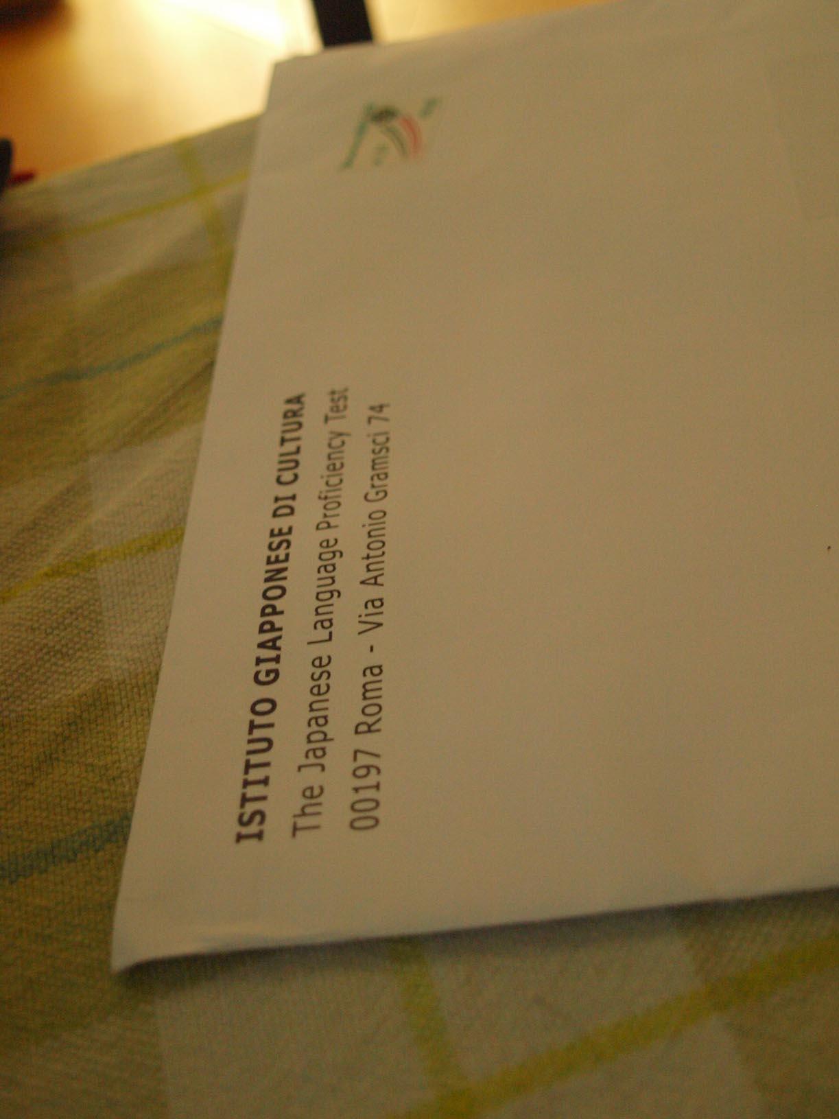 ローマからの郵便物は。。。。_c0179785_161736.jpg