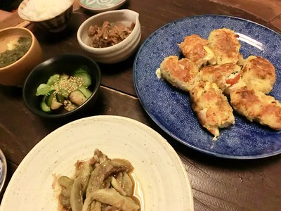鶏ささみトマトチ-ズバジル巻パン粉焼き。_c0234685_237878.jpg