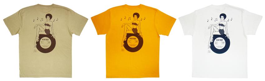 Blue Beat と Red Hot MamaのコラボTシャツ販売中!_d0240091_17405072.jpg