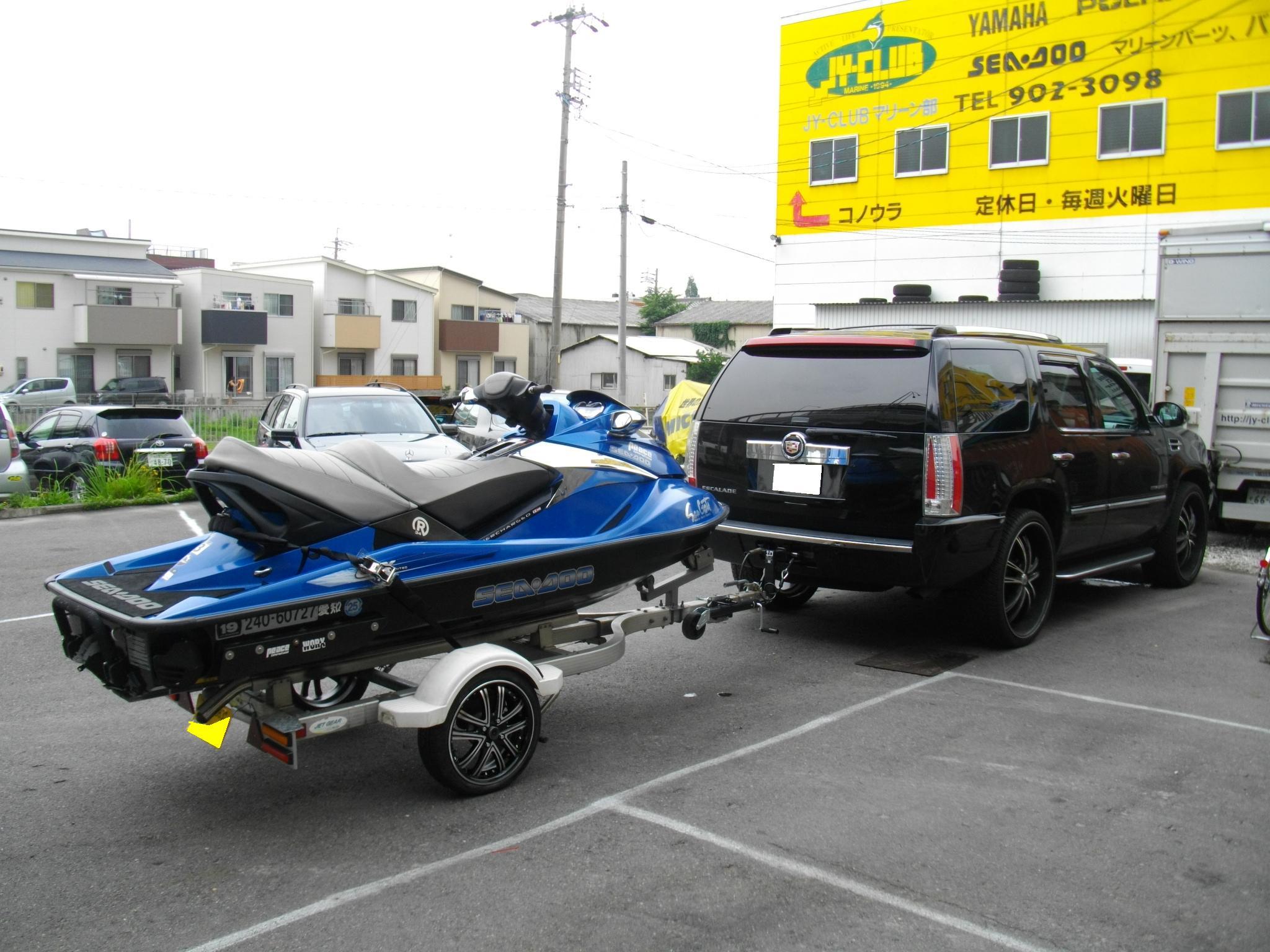 ジェットスキーのトレーラーを・・・_e0188729_14112359.jpg