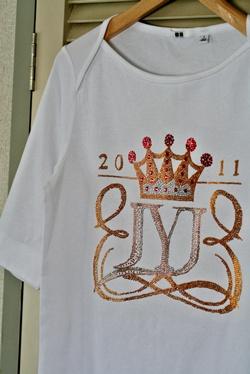 メタルビーズ☆JYJのTシャツ!_b0048834_9544480.jpg
