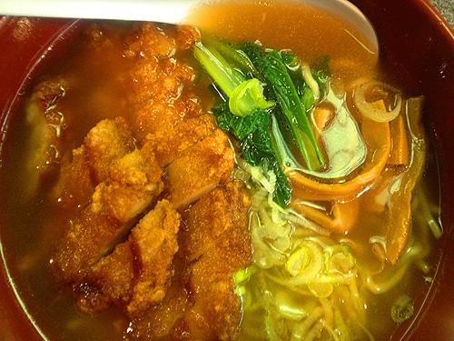 ◆排骨拉麺 / 万世麺店 有楽町店_b0008655_15575039.jpg