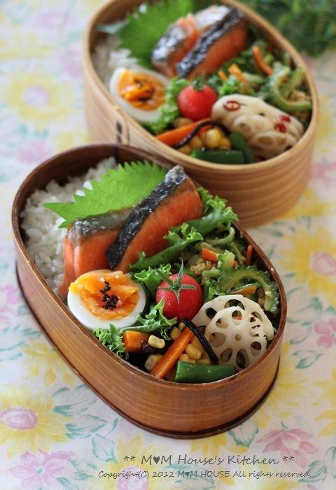野菜いっぱいのお弁当 ☆ 野菜いっぱいの晩ご飯♪_c0139375_12434792.jpg