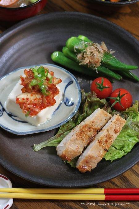 野菜いっぱいのお弁当 ☆ 野菜いっぱいの晩ご飯♪_c0139375_12453430.jpg