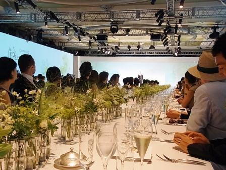 「ペリエ ジュエ ベル エポック 2004 フローラル・エディション」発表晩餐会_a0138976_19495998.jpg