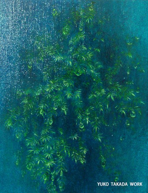 緑の雫を描く。_b0240382_17465319.jpg