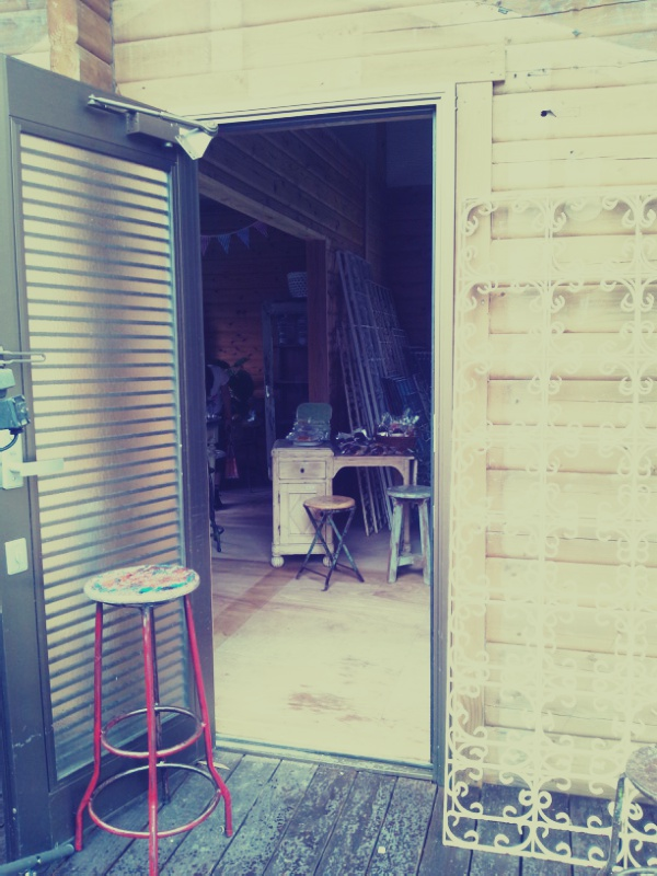 古材チーク家具展とbag collection_c0246783_2273182.jpg