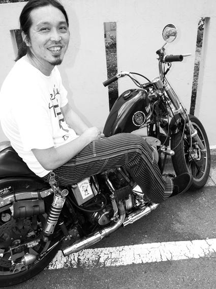 射場 正幸 & Harley-Davidson FX1200(2012 0704)_f0203027_11182935.jpg