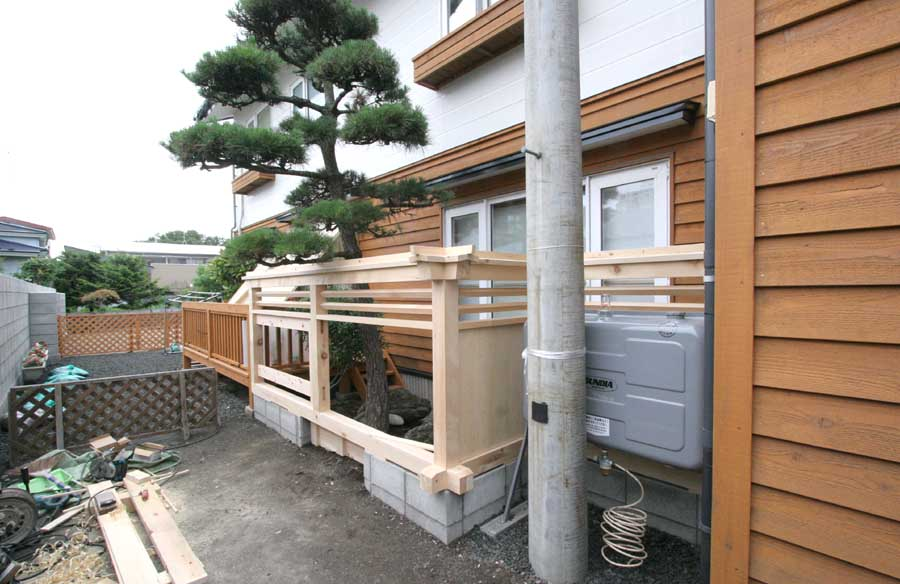 N邸「柳町の家」外壁リフォーム工事_f0150893_14392361.jpg