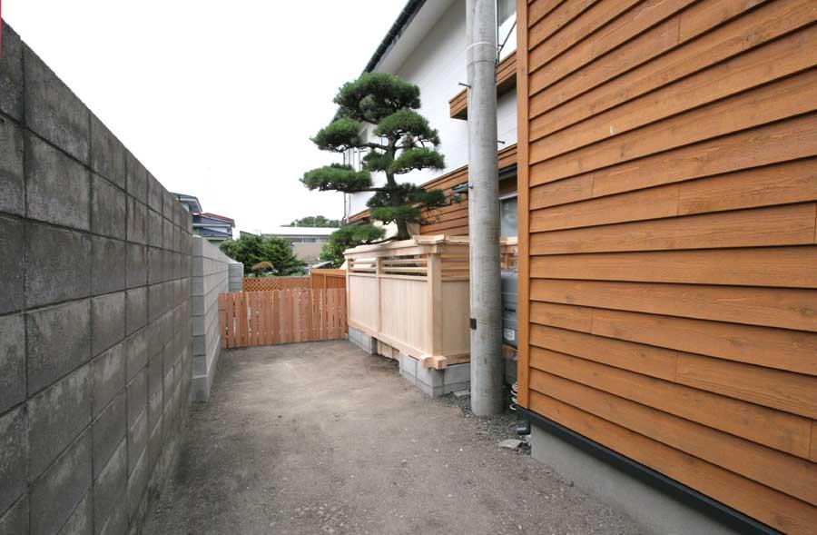 N邸「柳町の家」外壁リフォーム工事_f0150893_1442366.jpg