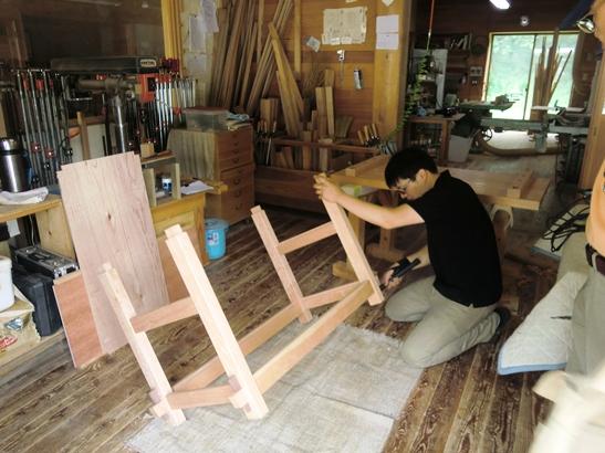 アマチュア木工家作品展1日目_f0227395_1865912.jpg