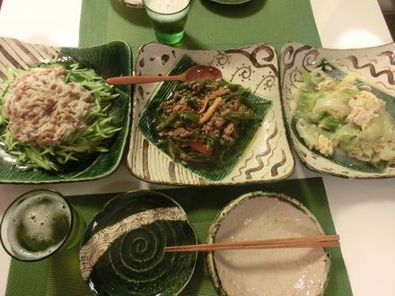 野菜たっぷり・・・♪  7/15②_b0247223_21132483.jpg