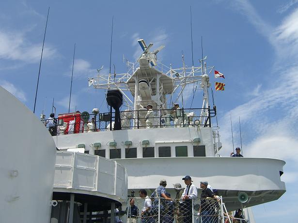 海上保安庁 巡視艇せっつ 公開訓練見学_d0190346_1554142.jpg